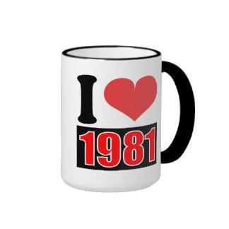 Amo 1981 - las tazas