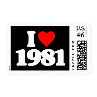 AMO 1981 SELLOS