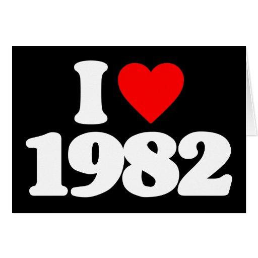 AMO 1982 TARJETÓN