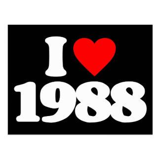 AMO 1988 TARJETAS POSTALES