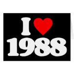 AMO 1988 TARJETÓN