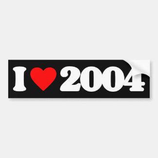 AMO 2004 PEGATINA PARA AUTO