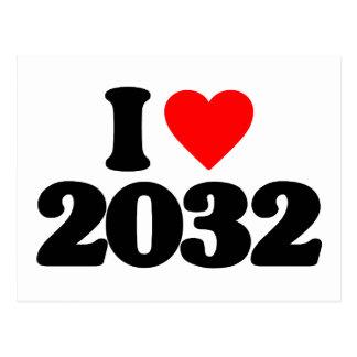 AMO 2032 TARJETAS POSTALES