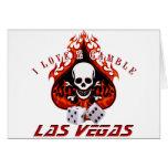 Amo 2 el juego - Las Vegas Felicitación