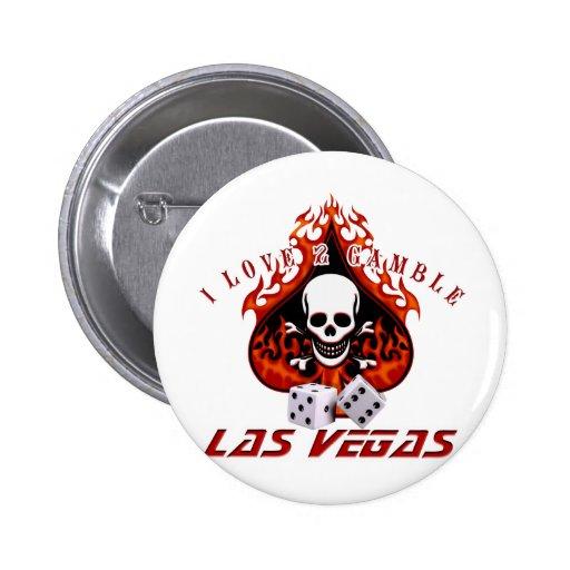 Amo 2 el juego - Las Vegas Pins