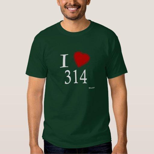 Amo 314 St. Louis Remera
