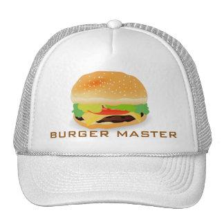 Amo 3 de la hamburguesa gorro
