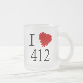 Amo 412 Pittsburgh Taza De Cristal