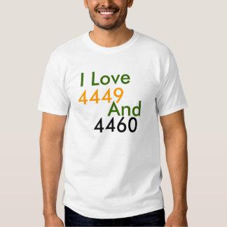Amo, 4449, y, 4460 playeras