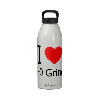 Amo 5-0 rutinas botella de agua