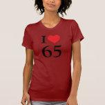 Amo 65 camiseta