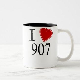 Amo 907 Fairbanks Tazas De Café