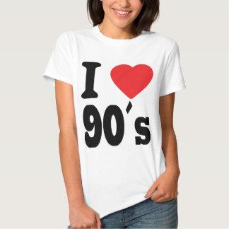 Amo 90 ´s camisas