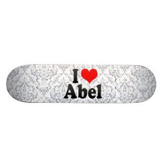 Amo a Abel Tabla De Patinar