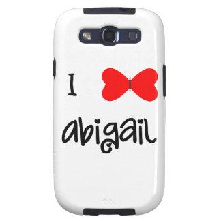 Amo a Abigail Samsung Galaxy S3 Protector
