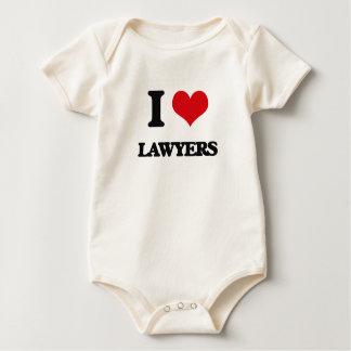 Amo a abogados body para bebé