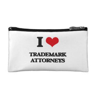 Amo a abogados de la marca registrada