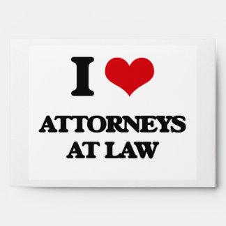 Amo a abogados en la ley