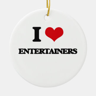 Amo a actores ornaments para arbol de navidad