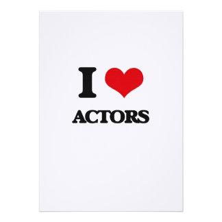 Amo a actores comunicado