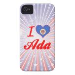 Amo a Ada, Minnesota iPhone 4 Case-Mate Cobertura