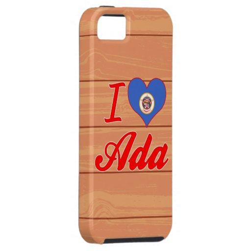 Amo a Ada, Minnesota iPhone 5 Case-Mate Cobertura