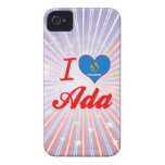 Amo a Ada, Oklahoma iPhone 4 Case-Mate Cobertura