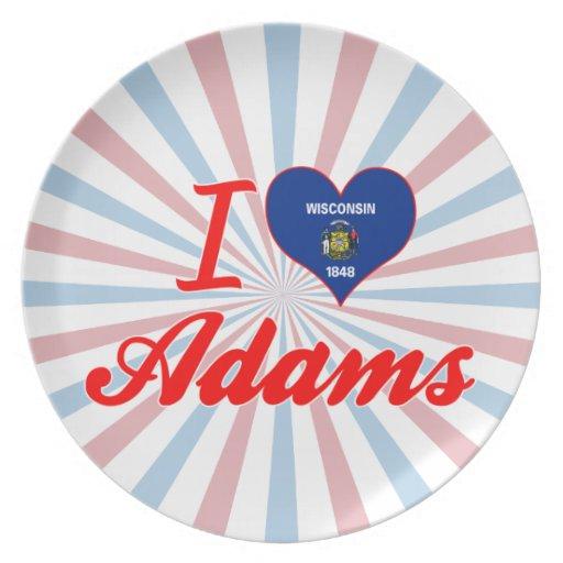Amo a Adams, Wisconsin Plato
