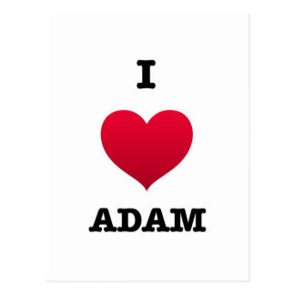 Amo a Adán Postales