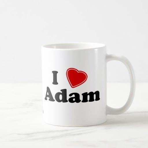 Amo a Adán Taza Clásica