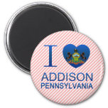 Amo a Addison, PA Iman De Frigorífico