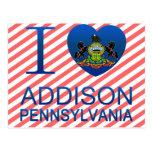 Amo a Addison, PA Postal