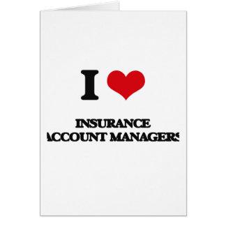 Amo a administradores de cuentas del seguro felicitacion