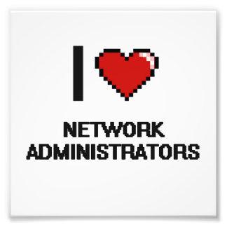 Amo a administradores de red cojinete