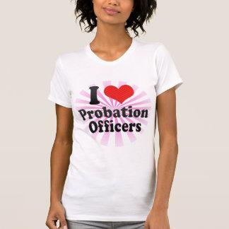 Amo a agencias de libertad vigilada camiseta