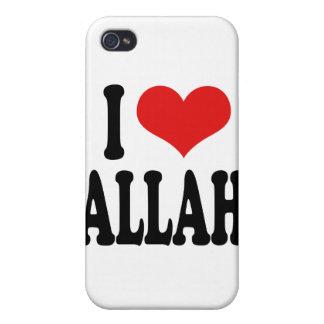 Amo a Alá iPhone 4/4S Carcasa