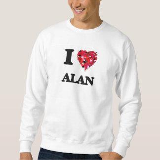 Amo a Alan Sudaderas Encapuchadas