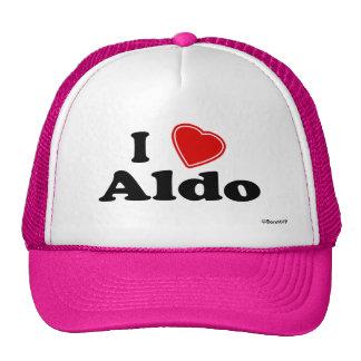 Amo a Aldo Gorros Bordados