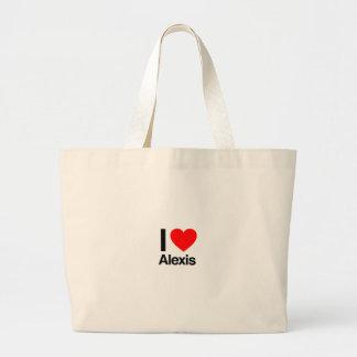 amo a Alexis Bolsa Lienzo