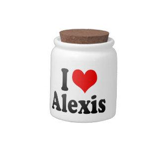 Amo a Alexis Jarra Para Caramelo