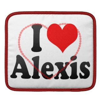 Amo a Alexis Mangas De iPad