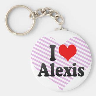 Amo a Alexis Llaveros Personalizados