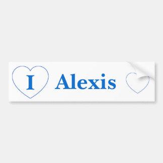 Amo a Alexis (los BPS) Pegatina Para Auto
