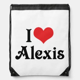 Amo a Alexis Mochilas