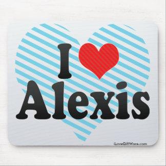 Amo a Alexis Tapete De Ratón