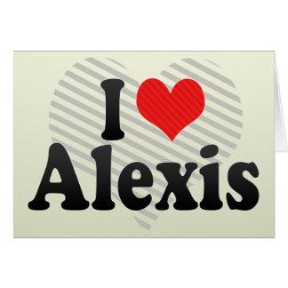 Amo a Alexis Felicitacion