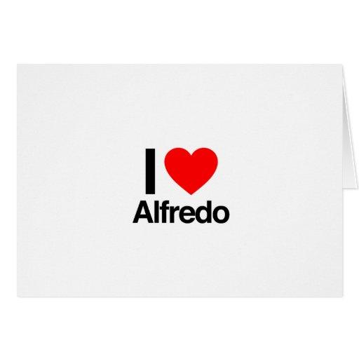 amo a Alfredo Felicitacion