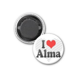 Amo a Alma, Canadá. Amo a Alma, Canadá Imán