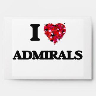 Amo a almirantes sobre