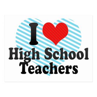 Amo a altos profesores de escuela postal